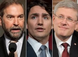 MULCAIR-TRUDEAU-HARPER