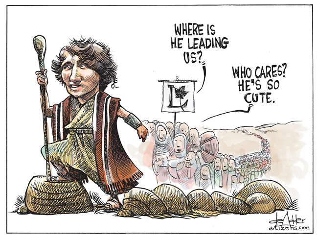 Boy Trudeau To Apply Obamanomics To Canada With The Exact Same Abysmal ...