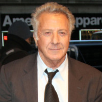 Dustin Hoffman out in New York