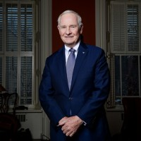 OTTAWA, ONT.: DECEMBER 9, 2013 -- The Govenor General of Canada, honourable David Johnston poses for a photograph at his residence in Ottawa on Monday, December 9, 2013. (James Park for Postmedia News) ORG XMIT: POS1312091614175904