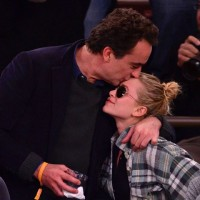 Celebrities Attend The Minnesota Timberwolves Vs New York Knicks Game - November 3, 2013