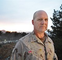 Maj.-Gen. Dean Milner, the last Canadian commander in Afghanistan, poses for a photo in Kabul on Monday March 10, 2014. Despite the end of the over 12 years military involvement, Milner says it's important Canada and the rest of the international community remain engaged to complete the work started during the war. THE CANADIAN PRESS/Murray Brewster