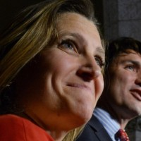 chrystia-freeland-and-justin-trudeau
