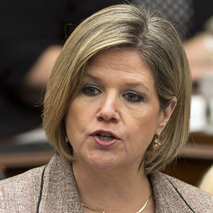 Ontario NDP leader Andrea Horwath is pictured in the Ontario Legislature on April 8, 2014. THE CANADIAN PRESS/Frank Gunn