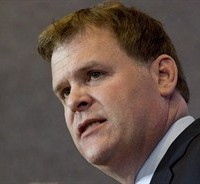 Foreign Affairs Minister John Baird responds to a question at a news conference Friday, May 2, 2014 in Ottawa. THE CANADIAN PRESS/Adrian Wyld