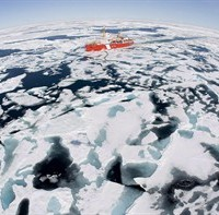 The Canadian Coast Guard icebreaker Louis S. St-Laurent makes its way through the ice in Baffin Bay on July 10, 2008. The Arctic may be a hot commodity, with remarkable resource and tourism opportunities, but a conference has heard that Canada and the United States are barely out of the ice age when it comes to harnessing its growth. THE CANADIAN PRESS/Jonathan Hayward