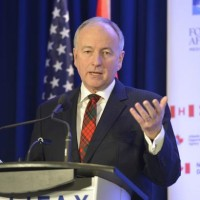 Defence Minister Rob Nicholson at the Halifax International Security Forum in November 2013 - US DoD Photo- Glenn Fawcett