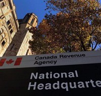"The Canada Revenue Agency headquarters in Ottawa is shown on November 4, 2011. A left-leaning think-tank was targeted by the Canada Revenue Agency for a political-activities audit last fall partly because the research and education material on its website appears to be ""biased"" and ""one-sided."" THE CANADIAN PRESS/Sean Kilpatrick"