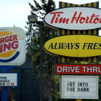 Tim Hortons Burger King 20140826