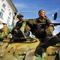 Pro-Russian Separatists Control Eastern Ukraine City Of Lugansk