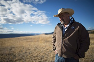 Chief Joe Alphonse, tribal chairman of the Tsilhqot'in Nation is pictured at Farwell Canyon, B.C. Friday, Oct. 24, 2014. When the Supreme Court of Canada handed down a land title decision in favour of British Columbia's Tsilhqot'in Nation, aboriginal leaders celebrated saying it gives their group a solid legal weapon to remind governments and potential industrial developers of who holds the power. THE CANADIAN PRESS/Jonathan Hayward