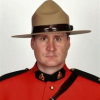 Const. David Matthew Wynn poses in this undated handout photo. An Alberta Mountie who was shot in the head while investigating a vehicle theft in a community just outside Edmonton last weekend has died. RCMP say Const. David Matthew Wynn, a husband and father of three sons, died in an Edmonton hospital this morning. THE CANADIAN PRESS/HO - RCMP