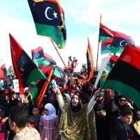 TOPSHOTS-LIBYA-POLITICS-UNREST-ANNIVERSARY
