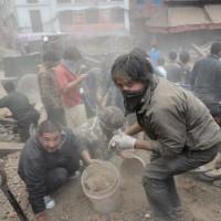 TOPSHOTS-NEPAL-INDIA-QUAKE