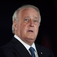Former prime minister Brian Mulroney is shown in Ottawa on Tuesday, April 8, 2014. Mulroney is being recognized for his contributions to the South African liberation movement with a national order, the country's highest honour. THE CANADIAN PRESS/Justin Tang