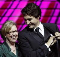 Justin Trudeau, Elizabeth May