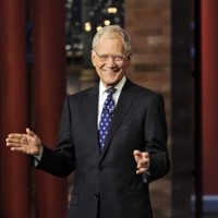 "In this image released by CBS, David Letterman appears during a taping of his final ""Late Show with David Letterman,"" Wednesday, May 20, 2015 at the Ed Sullivan Theater in New York. Rogers and Shaw say they're sorry after cutting away from David Letterman's final show as he bid farewell last week. THE CANADIAN PRESS/AP-Jeffrey R. Staab/CBS"