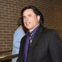 Suspended senator Patrick Brazeau arrives at the courthouse for his trial for allegations of assault and sexual assault from an incident in 2013, in Gatineau, Que., on Friday, June 19, 2015. The assault trial of Brazeau has been adjourned until mid-September. THE CANADIAN PRESS/Justin Tang