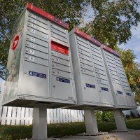 New community mailboxes in Kanata. Assignment 118536 // Photo taken at 11:33 on October 2, 2014. (Wayne Cuddington/Ottawa Citizen)