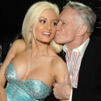 Holly Madison and Hugh Hefner (Photo by Denise Truscello/WireImage)