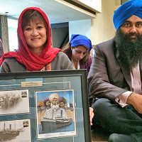 Wai Young Twitter feed. Wai Young, MP ?@WaiYoung  20 Jul 2014. Presented a commemorative 100th anniversary Komagata Maru stamp to Khalsa Diwan Society w @MinTimUppal this morning. Canadian MP, Canada