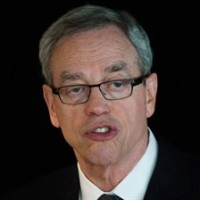 Finance Minister Joe Oliver addresses the Australia-Canada Economic Leadership Forum in Vancouver, B.C., on Tuesday, July 7, 2015. Oliver says the country was not in a recession in the first half of the year despite economic data to the contrary. THE CANADIAN PRESS/Darryl Dyck