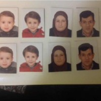 Documents prepared for a G5 application by Abdullah Kurdi and his family. These are photographs of each member of the family: Alan, Ghalib, Rehanna, and Abdullah Kurdi. Photo courtesy Tima Kurdi.  For Terry Glavin column