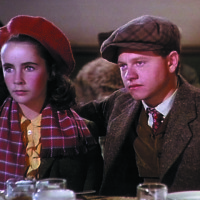 NATIONAL VELVET, Elizabeth Taylor, Mickey Rooney, 1944 - FILM STILL