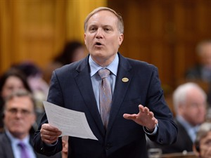 "NDP MP Peter Julian asks a question during question period in the House of Commons, in Ottawa, on May 28, 2015. ""The Reform Act is something that was brought, I think, in the specific circumstance to try to pry open the lack of democracy within the Conservative caucus, but the NDP has already followed those practices and gone beyond those practices for many years,"" said Julian. THE CANADIAN PRESS/Sean Kilpatrick"