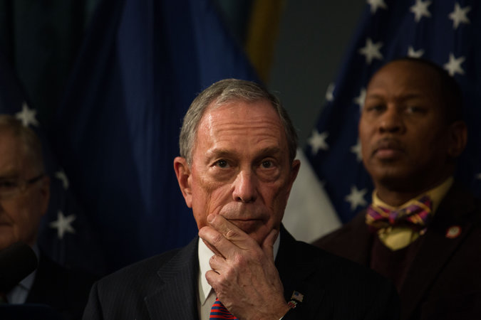 nyregion bloomberg sensing opening revisits potential white house