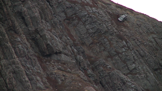 Woman  In Serious Condition After Driving Car Over Signal Hill - Car signal hill