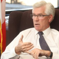 CALGARY, AB.; NOVEMBER 25, 2015   --  Jim Carr, the new federal Minister of Natural Resources, speaks with the Herald at the Harry Hays Buidling Wednesday November 25, 2015. (Ted Rhodes/Calgary Herald) For City  story by James Wood. Trax # 00070349A   CALGARY HERALD MERLIN ARCHIVE ORG XMIT: POS2015112519225671