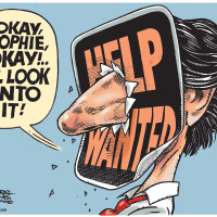 Justin Trudeau and Sophie Gregoire discuss her request for more staff