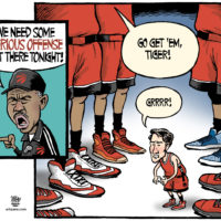 When Toronto Raptors need aggression, they call on Justin Trudeau