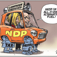 Rachel Notley and Joe Ceci use taxpayers to fuel campaign subsidies
