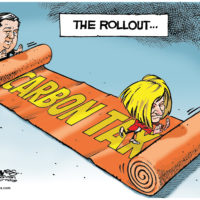 Jason Kenney plans to roll up Rachel Notley's carbon tax