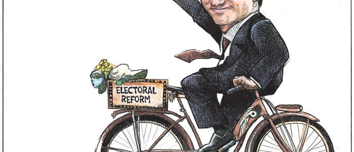 Justin Trudeau backpedals while appearing to move forward on 'Electoral Reform'