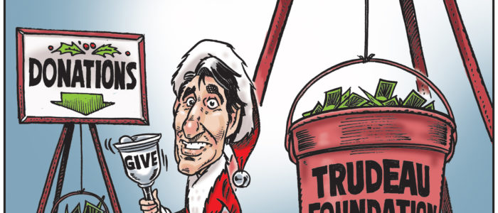 Justin Trudeau does fundraising during Christmas holidays