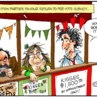 Failing Canadian opposition parties favor return to per-vote subsidy