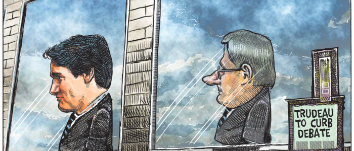 Justin Trudeau's authoritarian tendencies reflect those of Stephen Harper