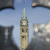 Parliament Hill pictured in Ottawa on Wednesday, February 8, 2017. iPolitics/Matthew Usherwood