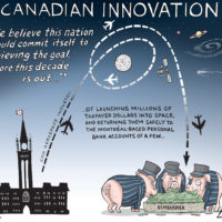 Bombardier feeds from the trough of Canadian innovation