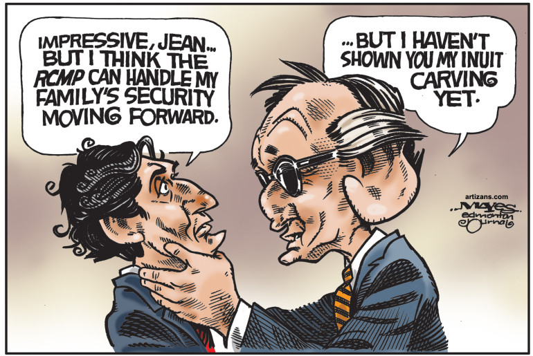Young Stephen Harper Denies Knowing Who Opened Christmas Gifts furthermore Theonion together with Pamela Wallin Accepts Wrist Slap For Wrongful Expense Claims further Most Offensive Halloween Costume Is Bill Morneau furthermore 2008 Political. on opinion political cartoons