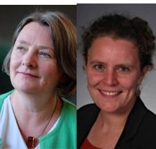 Stephanie Cairns and Dr. Amelia Clarke