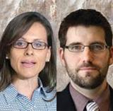 Andrea Mrozek and Peter Jon Mitchell