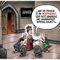 New 'independent' Senate appointees bow to Justin Trudeau
