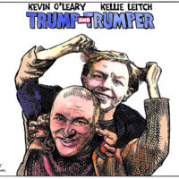 Kevin O'Leary and Kellie Leitch are 'Trump and Trumper'