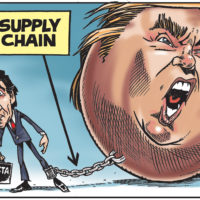 NAFTA supply chain ties Justin Trudeau to Donald Trump