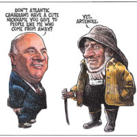 Kevin O'Leary has trouble relating to voters in Atlantic Canada