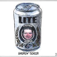 New Conservative leader Andrew Scheer is Stephen Harper lite - Color